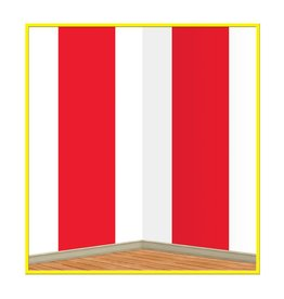 Red & White Stripes Back Drop