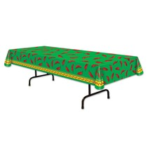 Chili Pepper Table Cover 4.5' x 9'