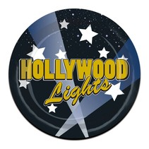 Hollywood Nights Plates 7""