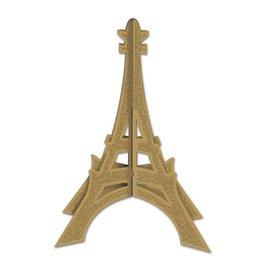 Eiffel Tower 3D Glitter Center Piece