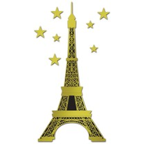 Eiffel Tower Jointed Foil Cut Out