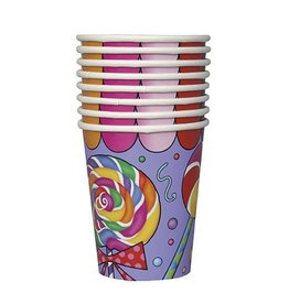 Candy Party Cups 8 count