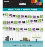 60th Birthday Cheer  Garland