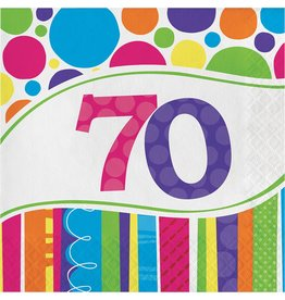 Luncheon Napkins Bright & Bold 70