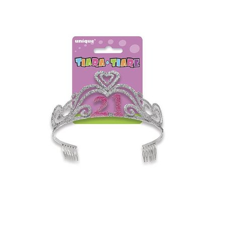21 Tiara Metal with Glitter