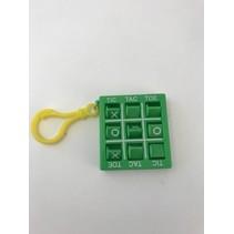 Tic Tac Toe Key Chain