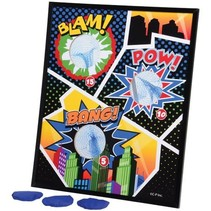 Super Hero Bean Bag Toss