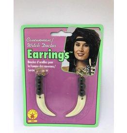 Cave Woman Earrings