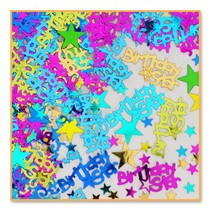 Confetti 1/2 oz Birthday Star