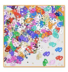 Confetti 1/2 oz Birthday 40