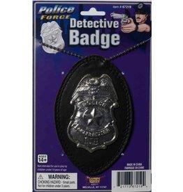 Detective Badge on Chain