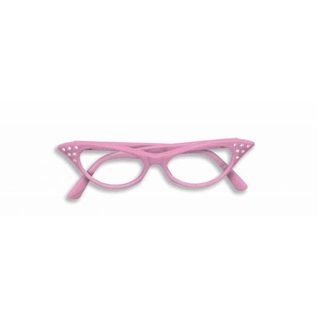 50's Glasses Pink