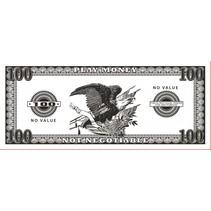Phoney Money $100- 50 pieces