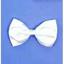 Bow Tie Elastic White