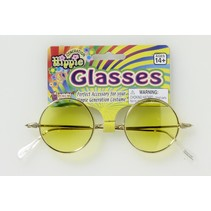 Hippie Glasses Yellow