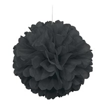 Black Puff Ball