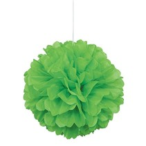 Lime Green Puff Ball