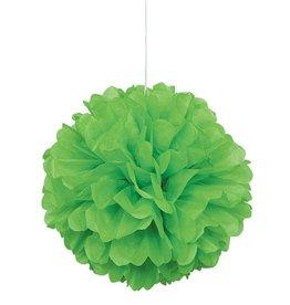 Lime Green Puff Ball
