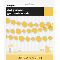 Yellow Dot Garland