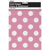 Polka Dot Loot Bags Pink