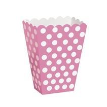 Pink Polka Dot Treat Boxes