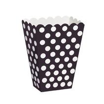 Black Polka Dot Treat Boxes