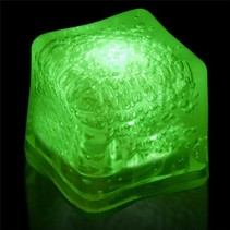 Ice Cube Lite Up Green