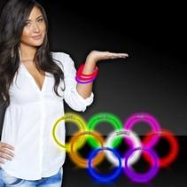 Glow Bracelets 50 count assorted colors