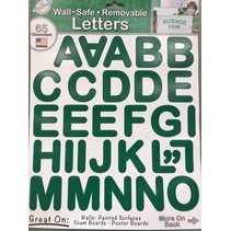 Letter Stickers Green