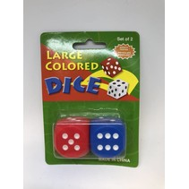 Large Dice 2 pack