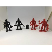 Fire Fighter Figures 12 piece package