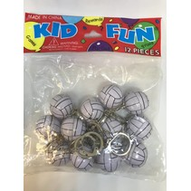 Volleyball Keychains 12 piece package