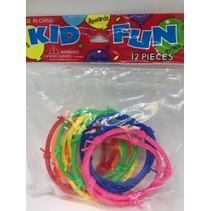 Barb Wire Bracelets Neon Color