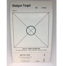 One Set Shotgun Targets