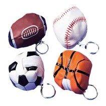 Baseball Keychains 12 piece package