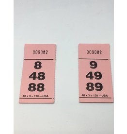40x3x120 Paddle Tickets