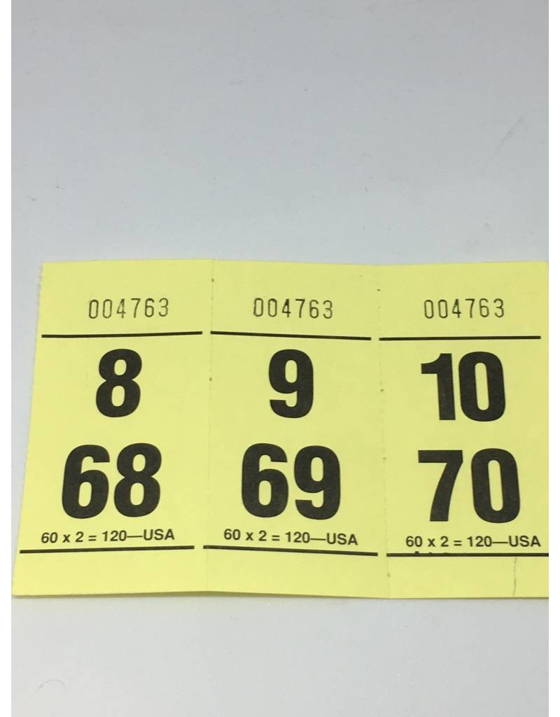 60x2x120 Paddle Tickets