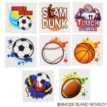 Sports  Tattoos 144 piece package