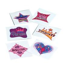Tattoos Princess 144 piece package