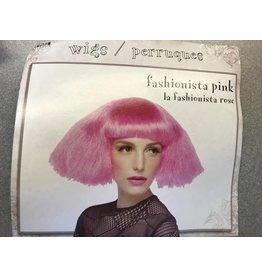 Fashionista Pink Wig