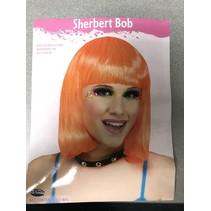 Sherbet Bob Wig Orange