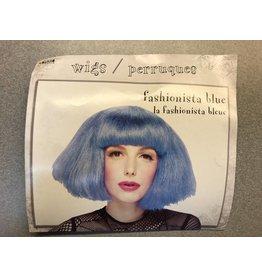 Fashionista Blue Wig