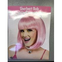 Sherbet Bob Wig Pink