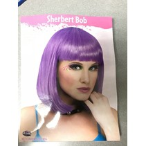 Sherbet Bob Wig Purple