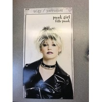 Punk Girl Blonde Wig