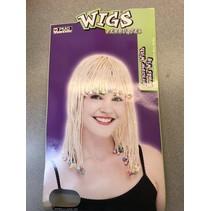 Cornrow Wig Blonde