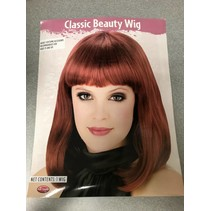 Classic Beauty Wig Red