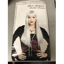 Glitzy Glamour Wig Silver