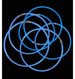 Blue Glow Necklaces Tube of 50