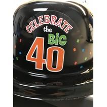 Celebrate 40 Derby Hat